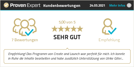Kundenbewertungen & Erfahrungen zu Ulrike Giller, Business-2Go - Online erfolgreich. Mehr Infos anzeigen.
