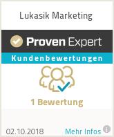 Erfahrungen & Bewertungen zu Lukasik Marketing