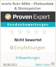 Erfahrungen & Bewertungen zu enerix Ruhr-Mitte - Photovoltaik & Stromspeicher