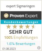 Erfahrungen & Bewertungen zu expert Sigmaringen