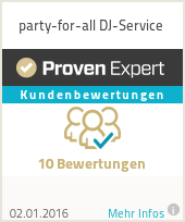Erfahrungen & Bewertungen zu party-for-all DJ-Service