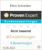 Erfahrungen & Bewertungen zu Ellen Schreiber