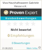 Erfahrungen & Bewertungen zu Viva Haushaltswaren Gabriele Hesse e.K.