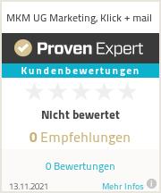 Erfahrungen & Bewertungen zu MKM UG Marketing, Klick + mail