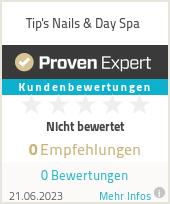 Erfahrungen & Bewertungen zu Tip's Nails & Day Spa