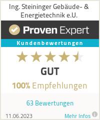 Erfahrungen & Bewertungen zu Ing. Steininger Gebäude- & Energietechnik e.U.