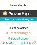 Erfahrungen & Bewertungen zu Terra Mobile