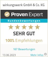 Erfahrungen & Bewertungen zu wirkungswerk GmbH & Co. KG