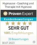 Erfahrungen & Bewertungen zu tncoaching - Hypnose Frankfurt