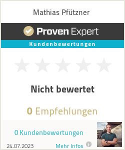 Erfahrungen & Bewertungen zu Mathias Pfützner