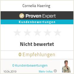 Erfahrungen & Bewertungen zu Cornelia Haering