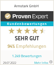 Erfahrungen & Bewertungen zu Armstark GmbH