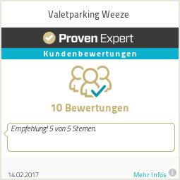 Erfahrungen & Bewertungen zu Valetparking Weeze