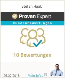 Erfahrungen & Bewertungen zu Stefan Haab