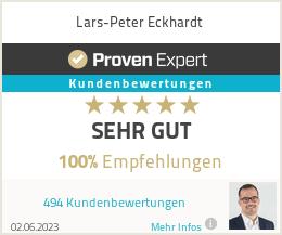 Erfahrungen & Bewertungen zu Lars-Peter Eckhardt