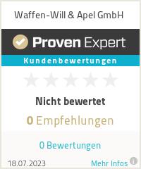 Erfahrungen & Bewertungen zu Waffen-Will & Apel GmbH