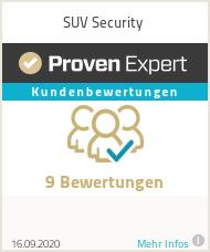 Erfahrungen & Bewertungen zu SUV Security