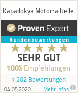 Erfahrungen & Bewertungen zu Kapadokya Motorradteile