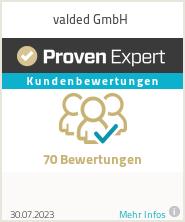 Erfahrungen & Bewertungen zu valded GmbH
