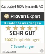 Erfahrungen & Bewertungen zu Castratori BKW Keramik AG