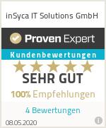 Erfahrungen & Bewertungen zu inSyca IT Solutions GmbH