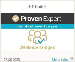 Erfahrungen & Bewertungen zu IHP GmbH