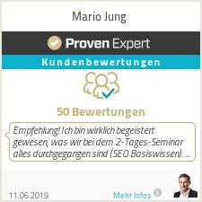 Erfahrungen & Bewertungen zu Mario Jung