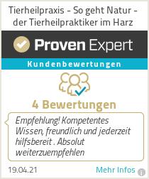 Erfahrungen & Bewertungen zu Tierheilpraxis - So geht Natur - der Tierheilpraktiker im Harz