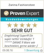 Erfahrungen & Bewertungen zu Zarima Fasionstore