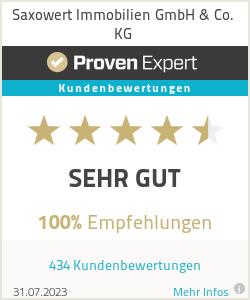 Erfahrungen & Bewertungen zu Saxowert Immobilien GmbH & Co. KG