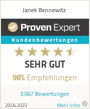Erfahrungen & Bewertungen zu Janek  Bennewitz