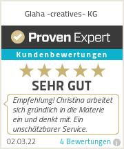 Erfahrungen & Bewertungen zu Glaha -creatives- KG