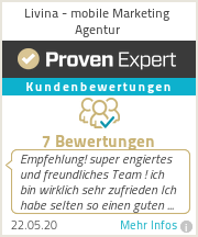 Erfahrungen & Erfahrungen zu Livina - Mobile Marketing Agentur