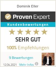 Erfahrungen & Bewertungen zu Dominik Eller