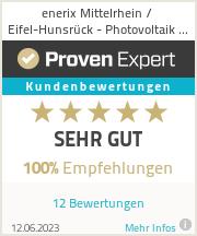 Erfahrungen & Bewertungen zu enerix Mittelrhein - Photovoltaik & Stromspeicher