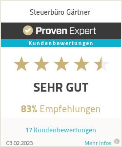 Erfahrungen & Bewertungen zu Steuerbüro Gärtner