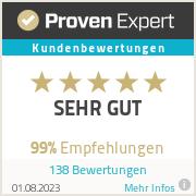Erfahrungen & Bewertungen zu ProvenExpert.com