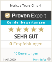 Erfahrungen & Bewertungen zu Noricus Tours GmbH