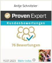 Erfahrungen & Bewertungen zu Antje Schnitzler