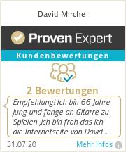 Erfahrungen & Bewertungen zu David Mirche
