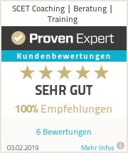 Erfahrungen & Bewertungen zu SCET Coaching | Beratung | Training