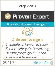 Erfahrungen & Bewertungen zu ScrepMedia
