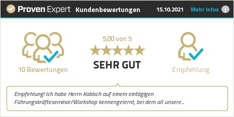 Kundenbewertungen & Erfahrungen zu Kabisch & Kabisch GmbH. Mehr Infos anzeigen.