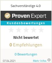Erfahrungen & Bewertungen zu Sachverständige 4.0