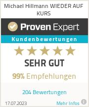 Erfahrungen & Bewertungen zu Michael Hillmann WIEDER AUF KURS
