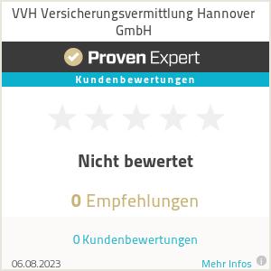 Erfahrungen & Bewertungen zu VVH Versicherungsvermittlung Hannover GmbH