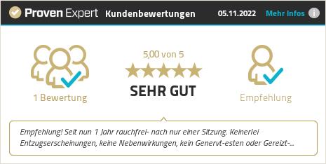 Erfahrungen & Bewertungen zu Hypnose Harald Markus anzeigen