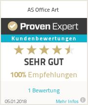 Erfahrungen & Bewertungen zu AS Office Art