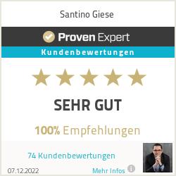 Erfahrungen & Bewertungen zu Santino Giese