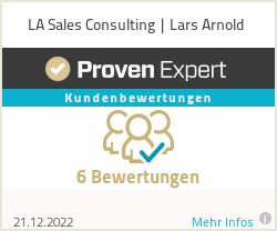 Erfahrungen & Bewertungen zu LA Sales Consulting | Lars Arnold